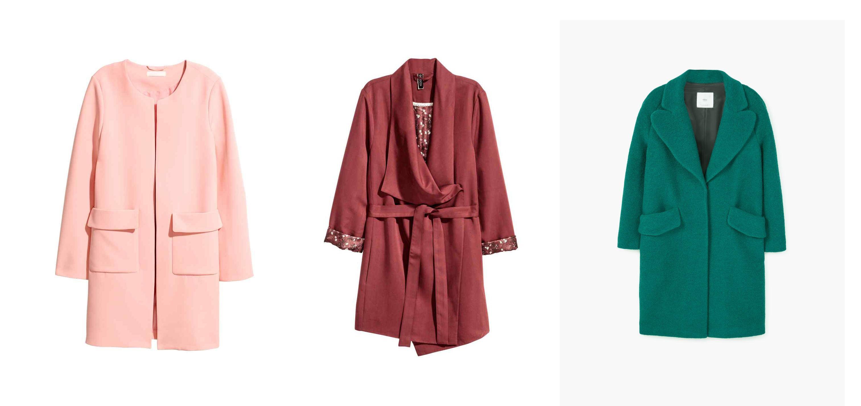 Proljetni kaputi: boje, boje i još malo boja