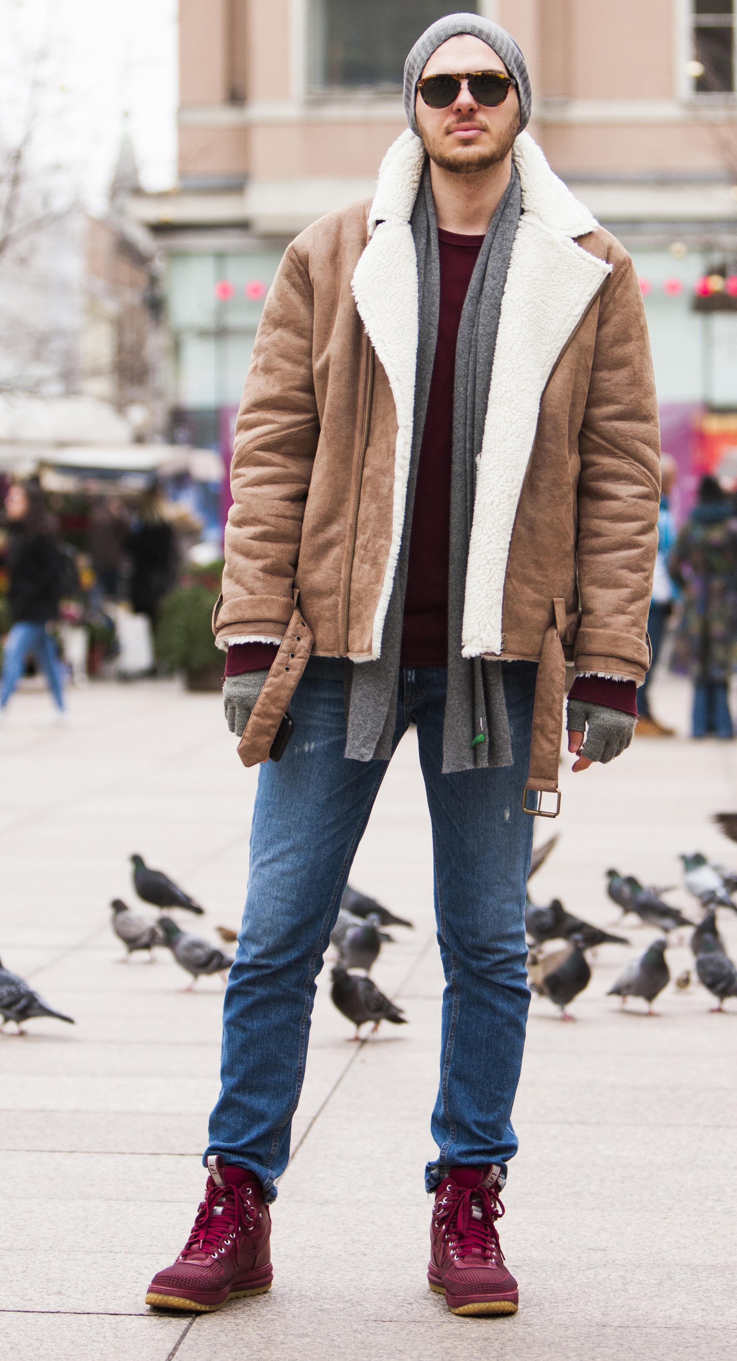 Ovaj zgodni student prava zna kako biti stylish pobjednik u borbi s hladnoćom