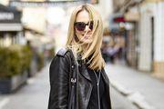 Mini-haljina i kožnjak odličan su spoj: Jelena Veljača zna kako nositi crno od glave do pete
