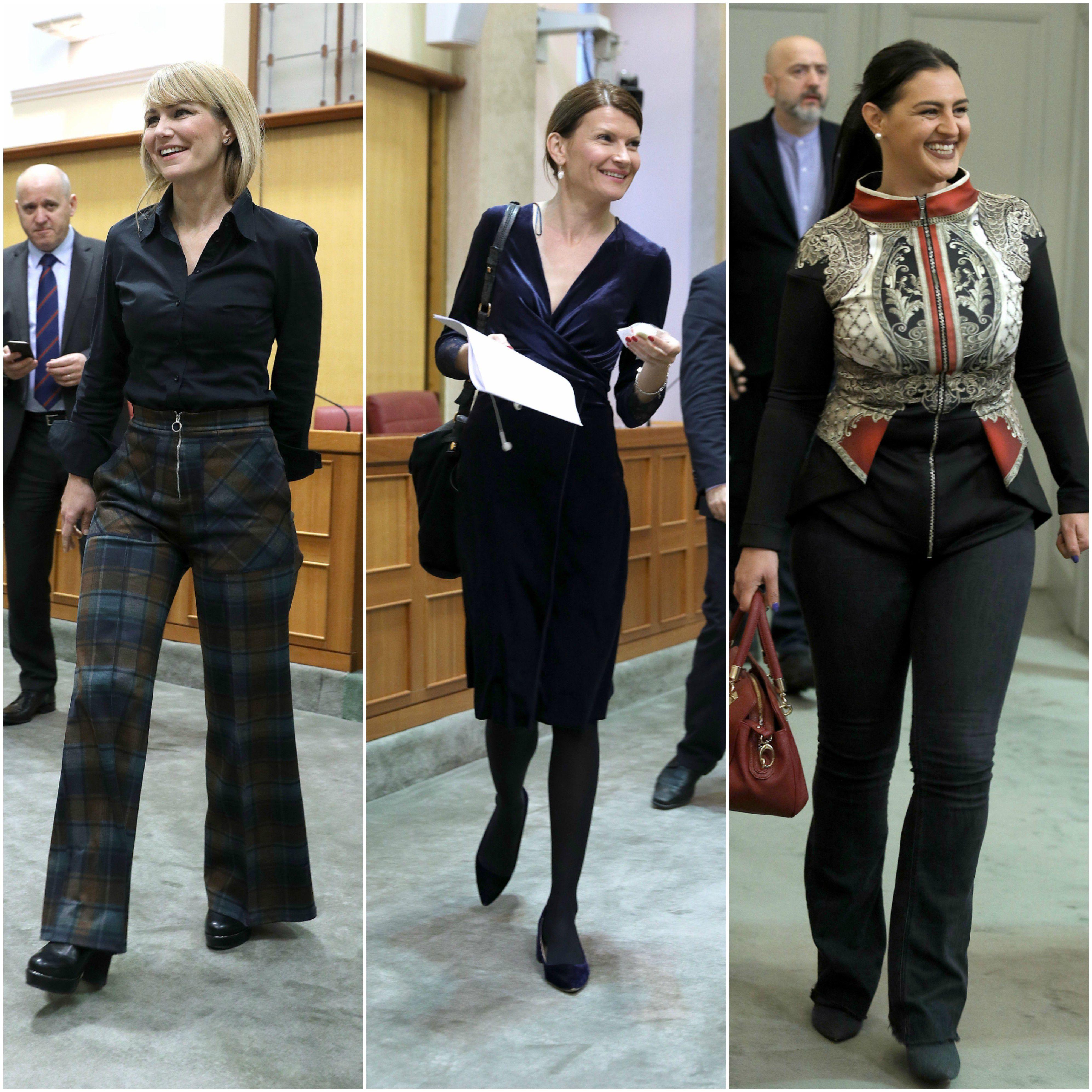 Saborska moda: Što zastupnice nose na posljednjoj aktualnoj sjednici Sabora?