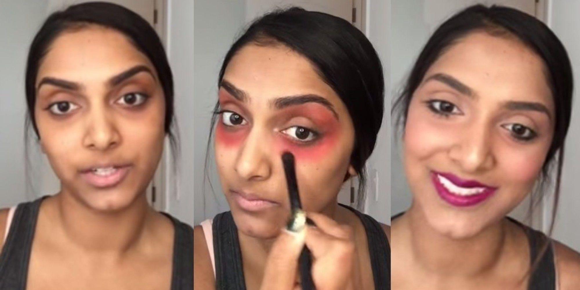 Diva isprobava najnovije make up trendove