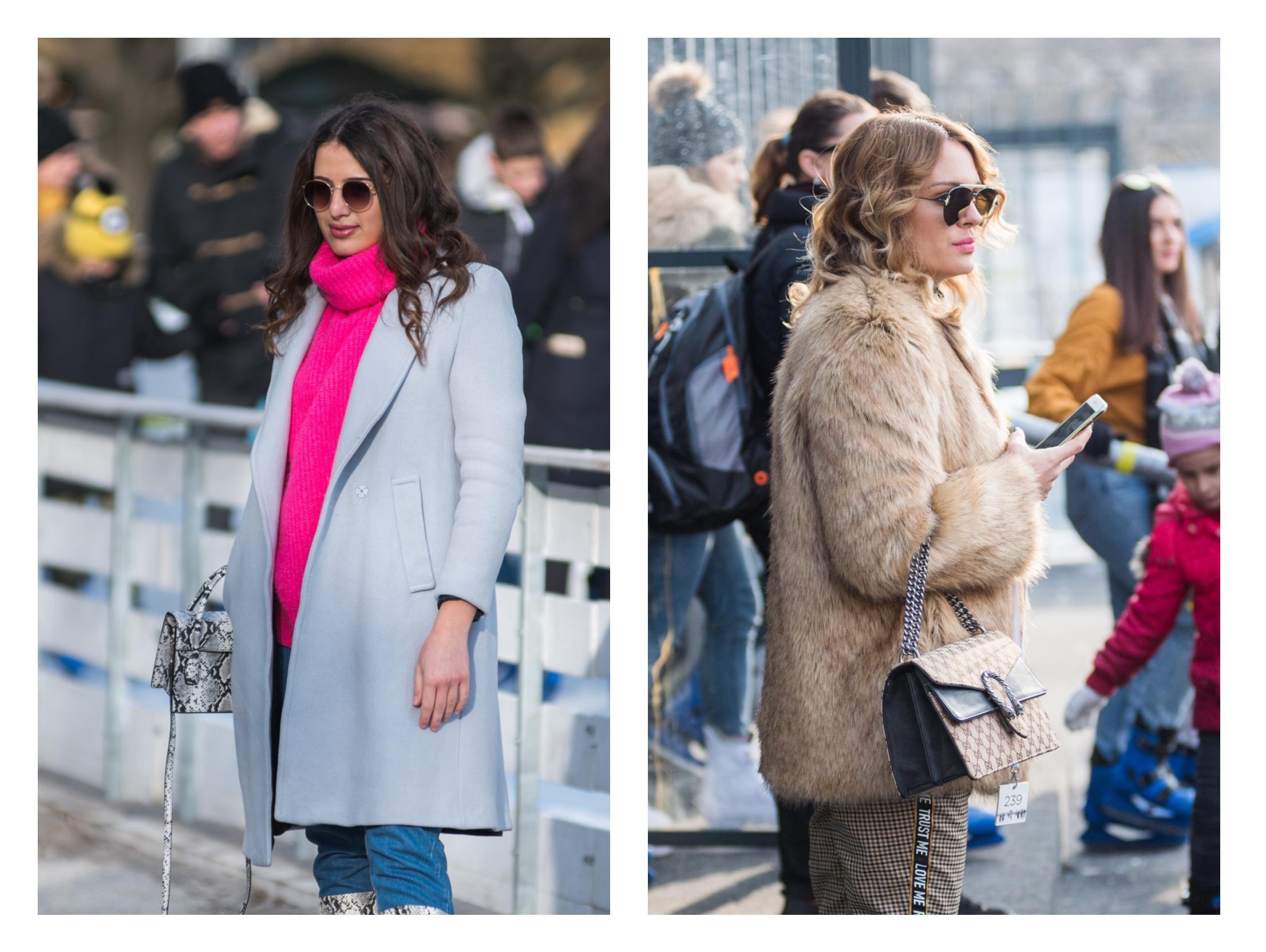 Cure modno briljiraju i na minusu: Pogledajte njihove kombinacije za šetnju Ledenim parkom