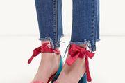 Proljetni trend: obuća sa satenskim vrpcama!