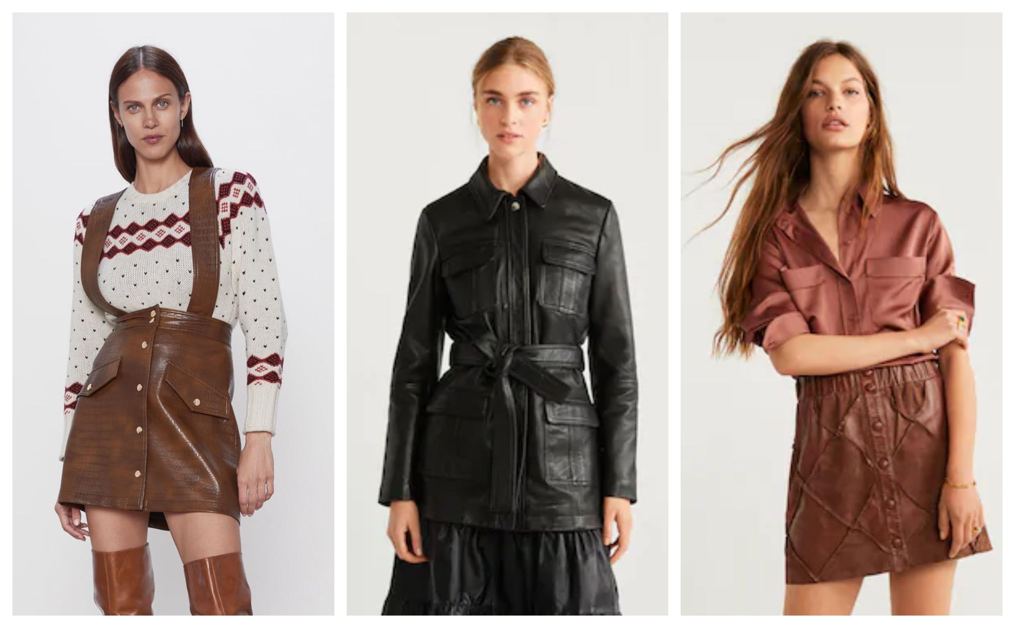 Trend kožnatih komada jedan je od najpopularnijih ove sezone: Pogledajte što se nosi!