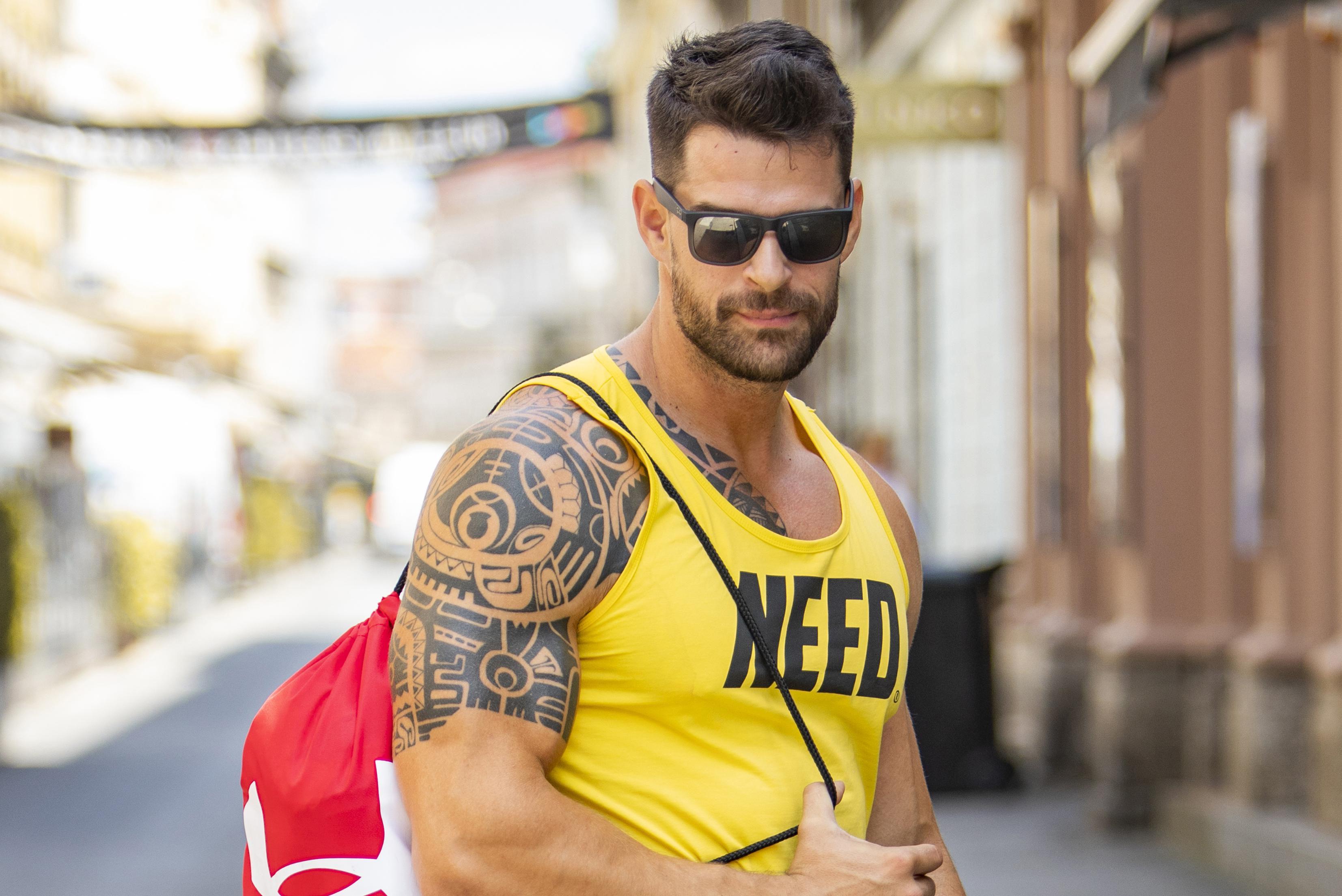 Frajer sa špice u sportskom izdanju: 'Danas je toliko vruće da nisam mogao sakriti mišiće'