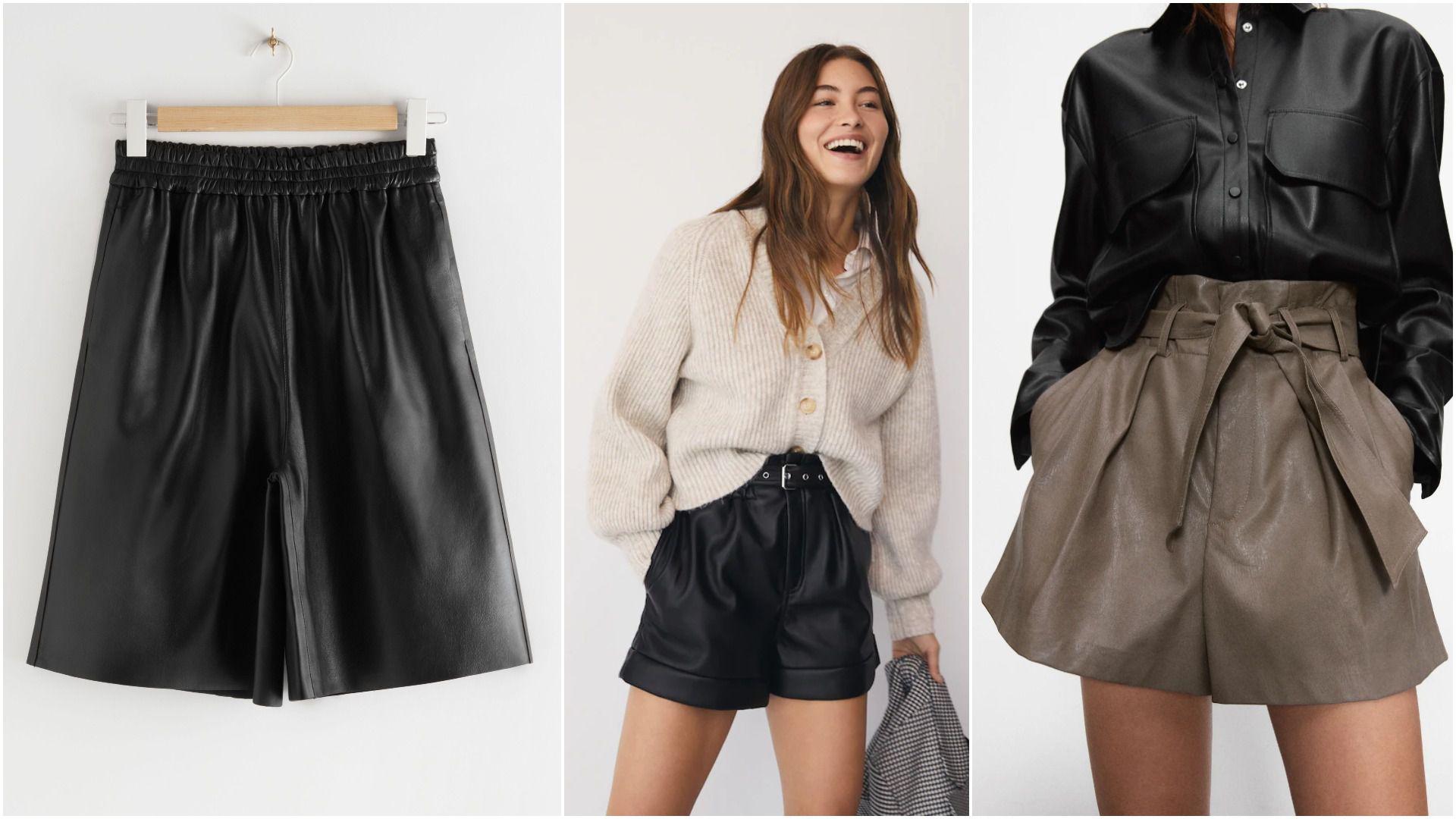 Kratke hlače i bermude od umjetne kože odličan su odabir za hladnu sezonu, pogotovo ako niste ljubiteljica suknji