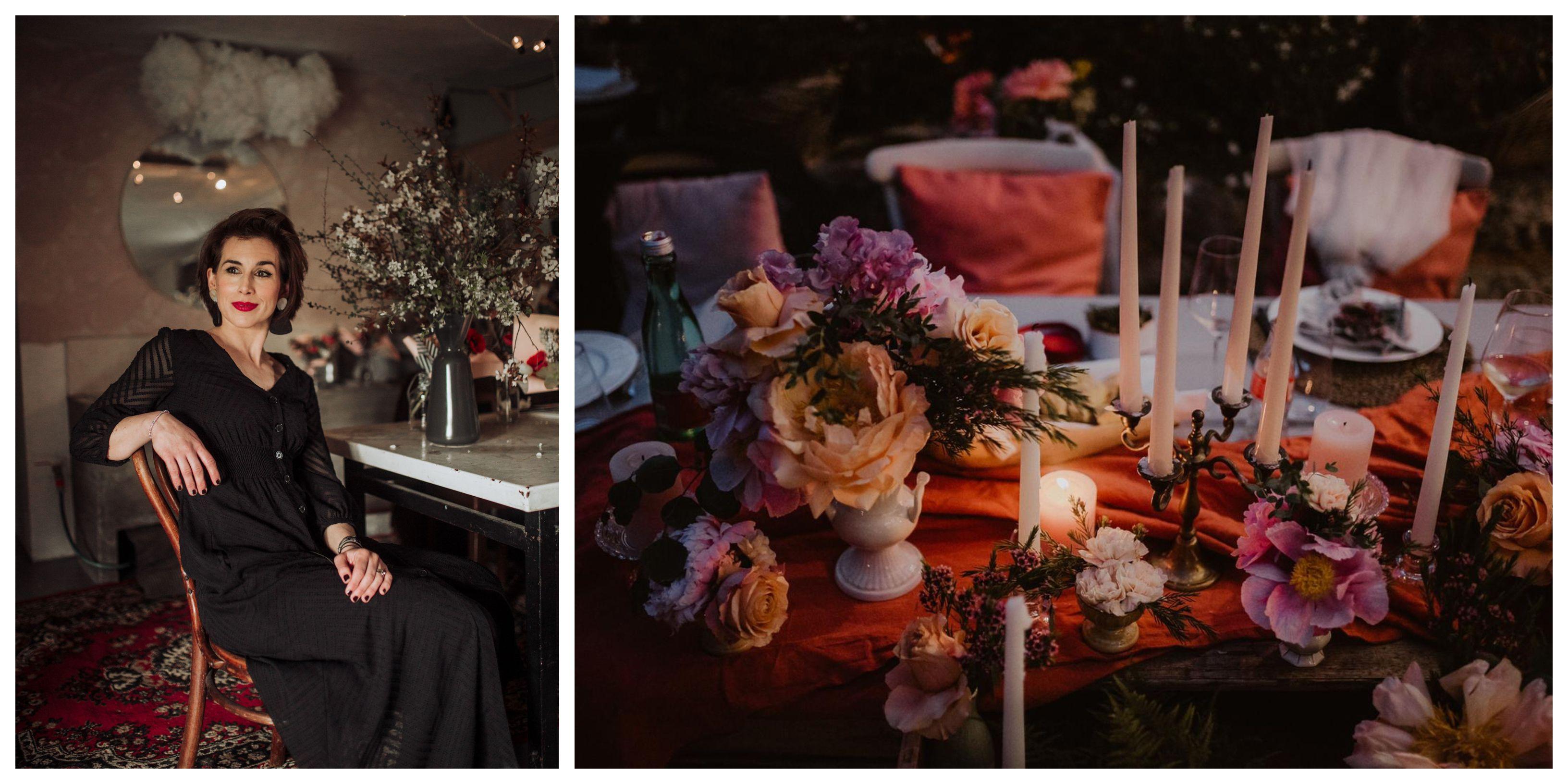Nina je majstorica za cvjetne čarolije, a teško je reći koja je dekoracija s vjenčanja ljepša!