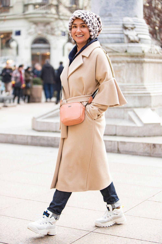 Njezin kaput nalazi se na listama želja brojnih fashionistica, a ona ga je isfurala na baš cool način