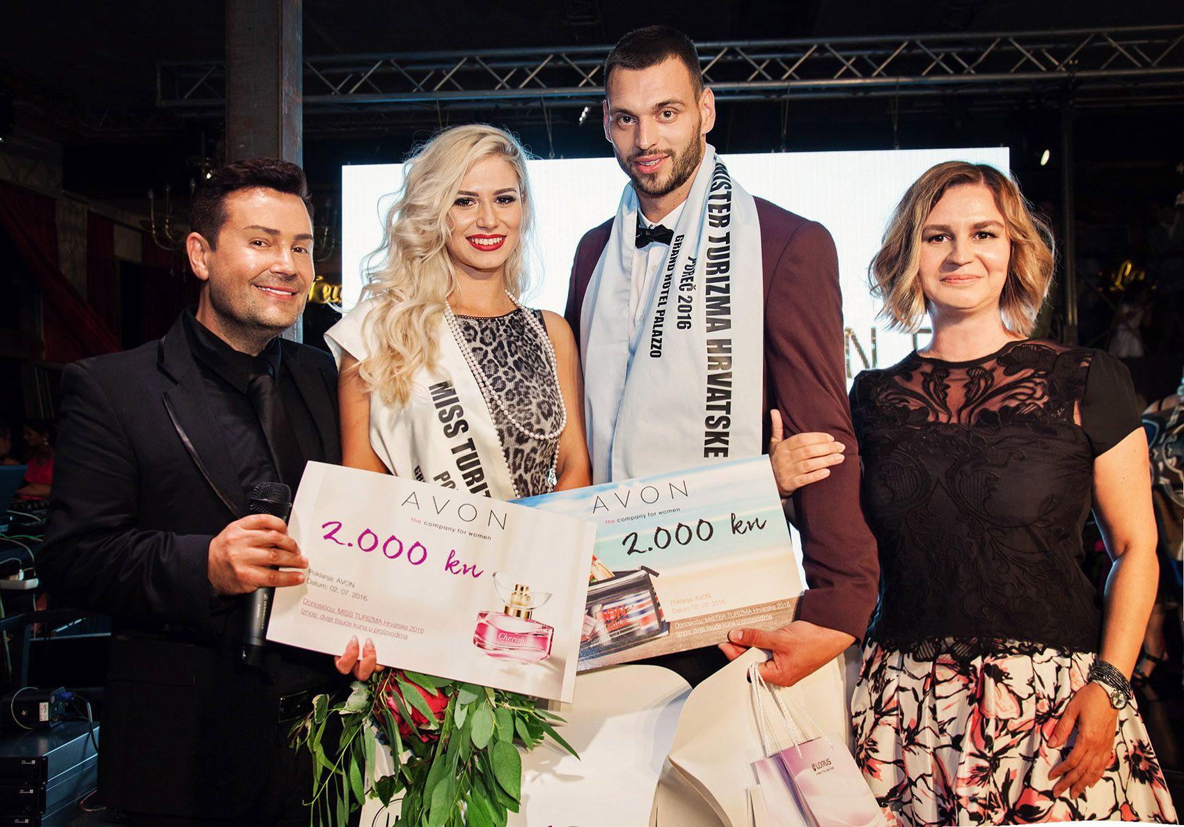 AVON makeup na izboru za  Miss i Mister Turizma Hrvatske 2016