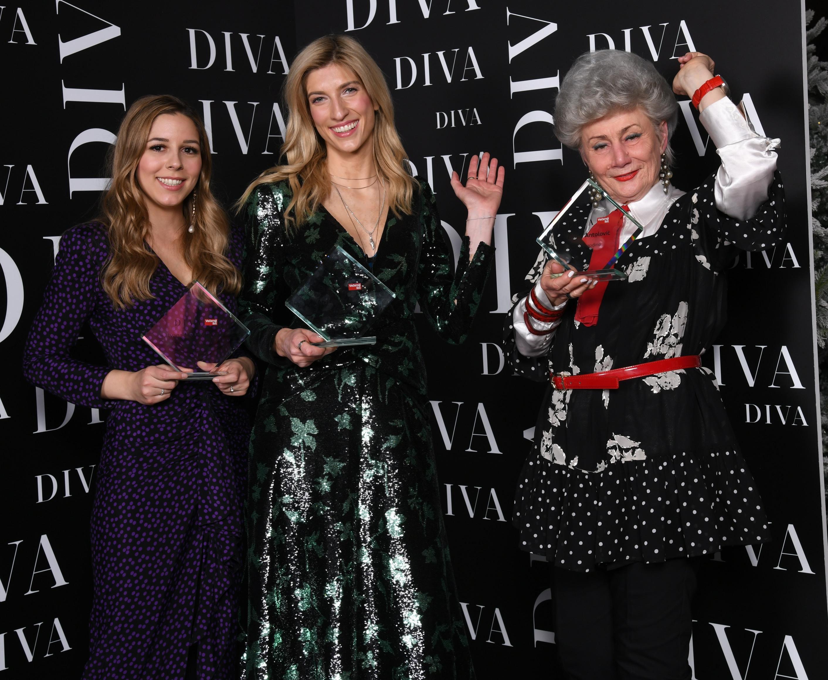 Tri predivne i inspirativne žene sinoć su proglašene Divama godine!