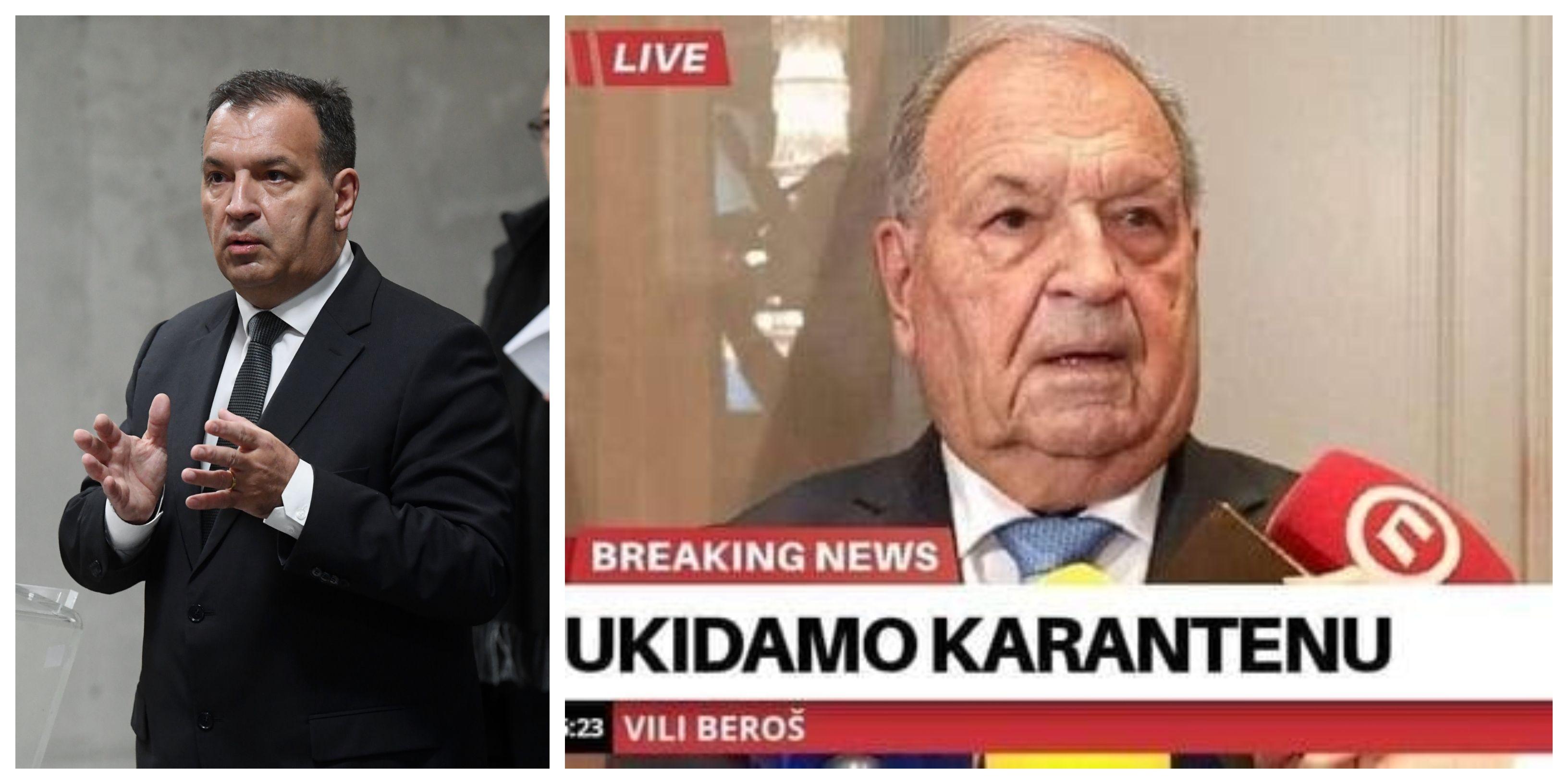 Vili Beroš Hrvatima je poput heroja: 'Kad ovo prođe, želim da Beroši ne budu zamjenici Kujundžićima'
