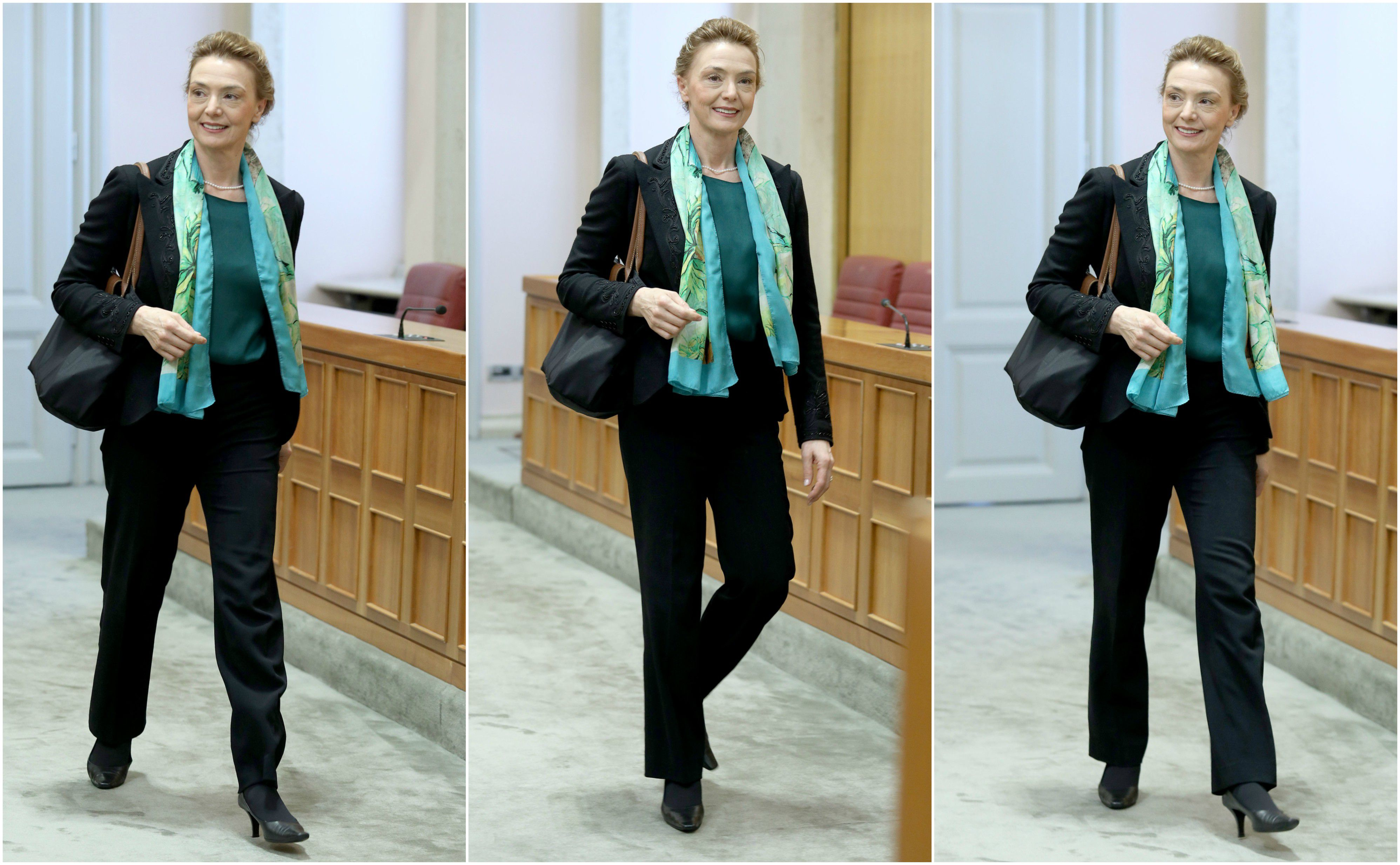 Tko kaže da je crno odijelo dosadno? Marija Pejčinović Buri dokazala je suprotno