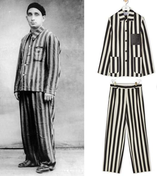 Modni brend Loewe prozvan zbog kolekcije koja izrazito podsjeća na uniforme koncentracijskih logora