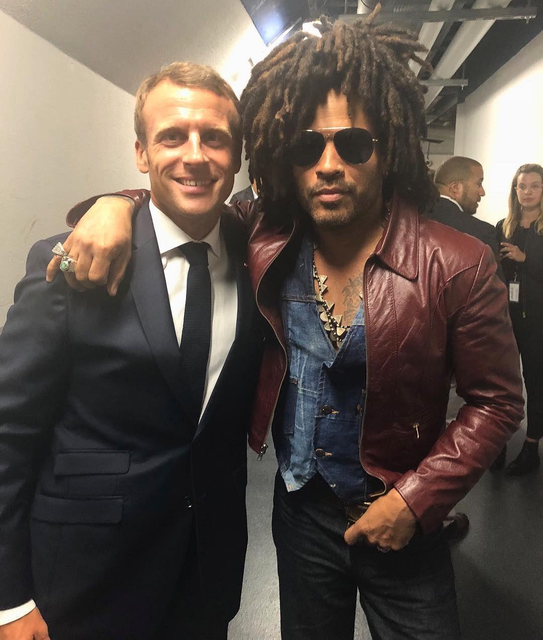Lenny Kravitz i francuski predsjednik? Nismo mislili da ćemo ih vidjeti skupa, ali i to se dogodilo!