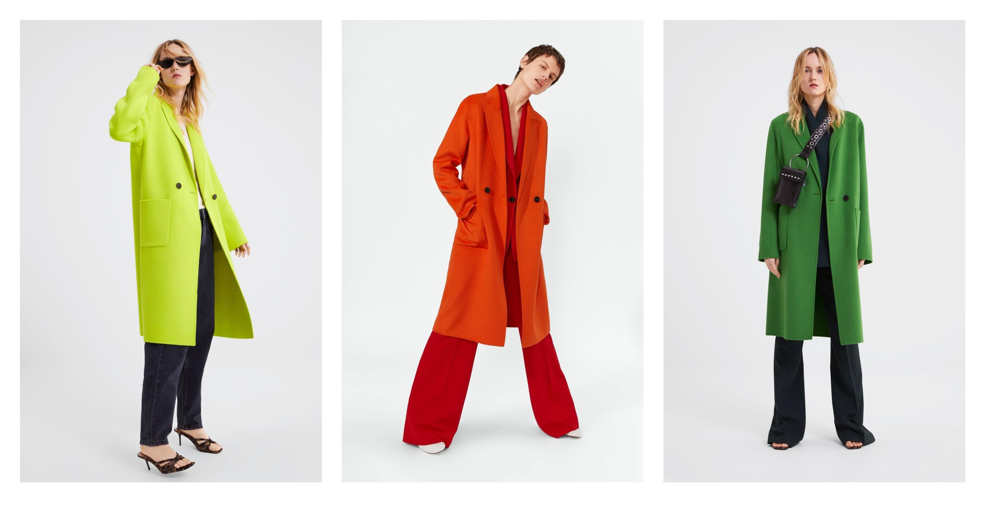 U Zari su se pojavili fantastični kaputi u jarkim bojama, a mi ih u kolekciji želimo baš sve!