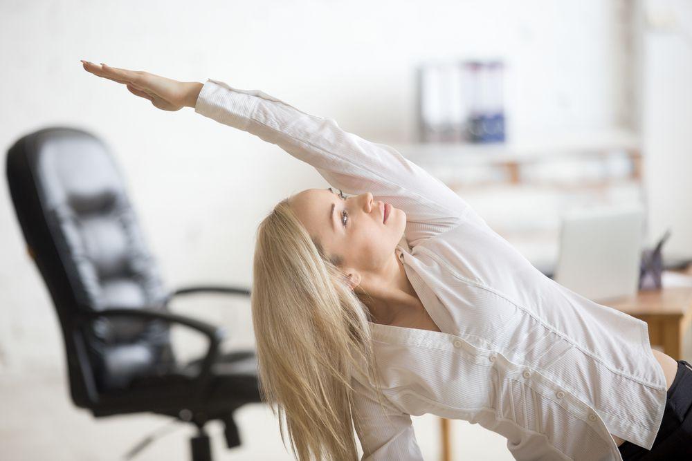 Otklonite ukočenost vježbama u uredu