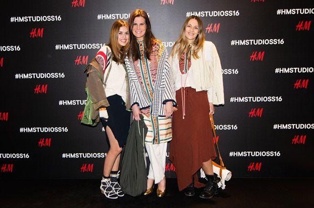 H&M Studio SS16 shopping event