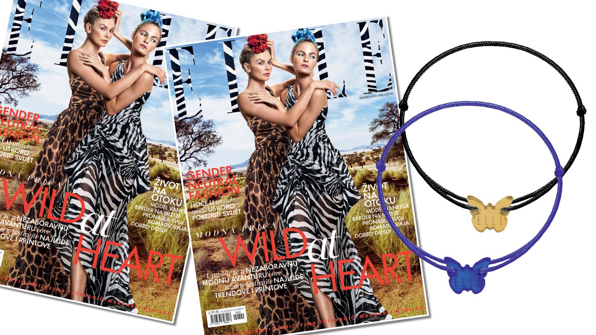 Narukvice Borboleta hit su i ovog ljeta – potražite ih u paketu s magazinom  Elle!
