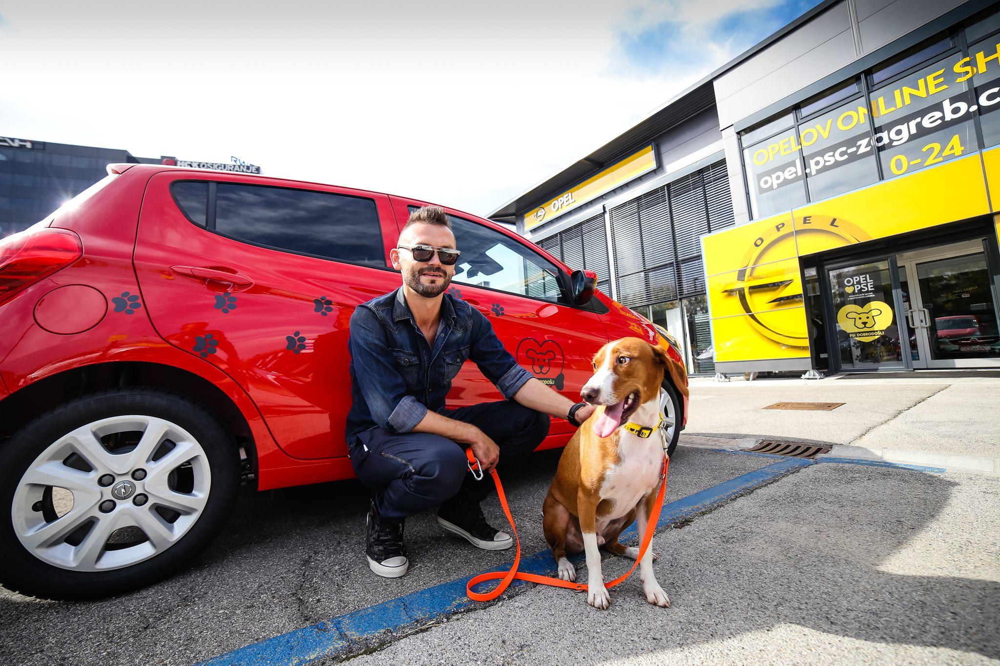 Opel i prvi 'dog - friendly' salon u Hrvatskoj