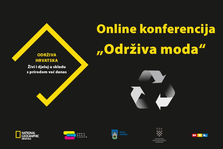 """Adria Media Zagreb i National Geographic Hrvatska predstavljaju online konferenciju """"Održiva moda"""""""