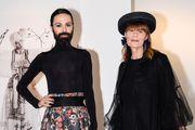 Božo Vrećo u raskošnoj cvjetnoj suknji, a Đurđa Tedeschi još jednom očitala modnu lekciju