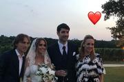 Luka Modrić sa suprugom stigao na svadbu Ćorluke i Franke