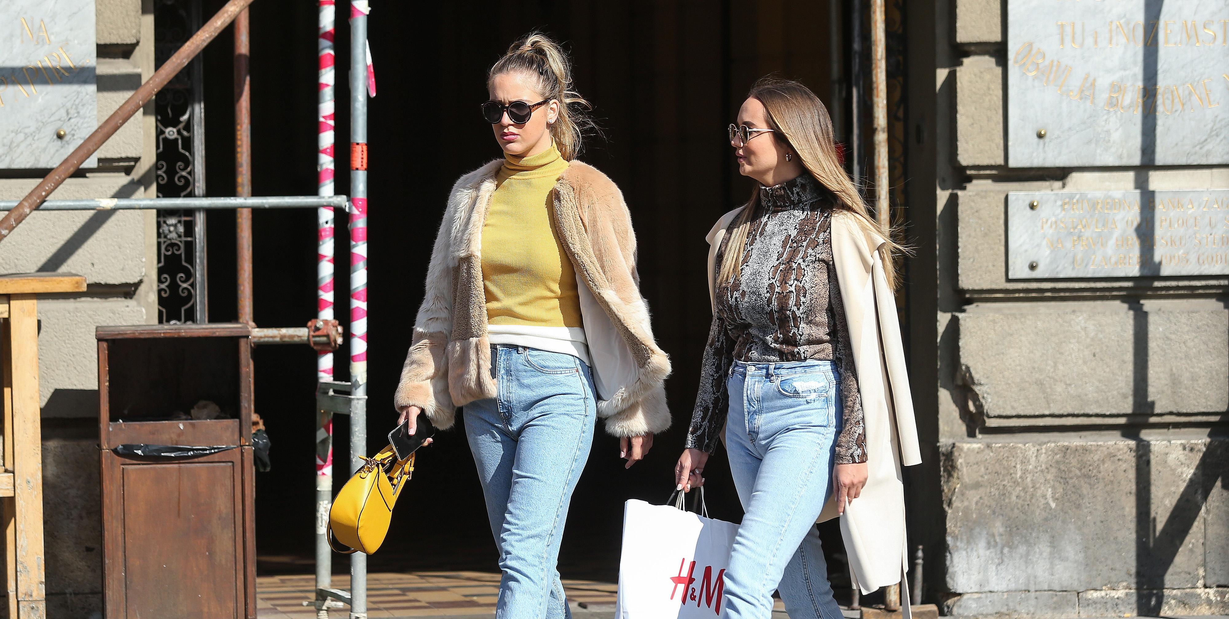 Ove dvije djevojke odlučile su se za nepopularne visine potpetica: Što kažete?