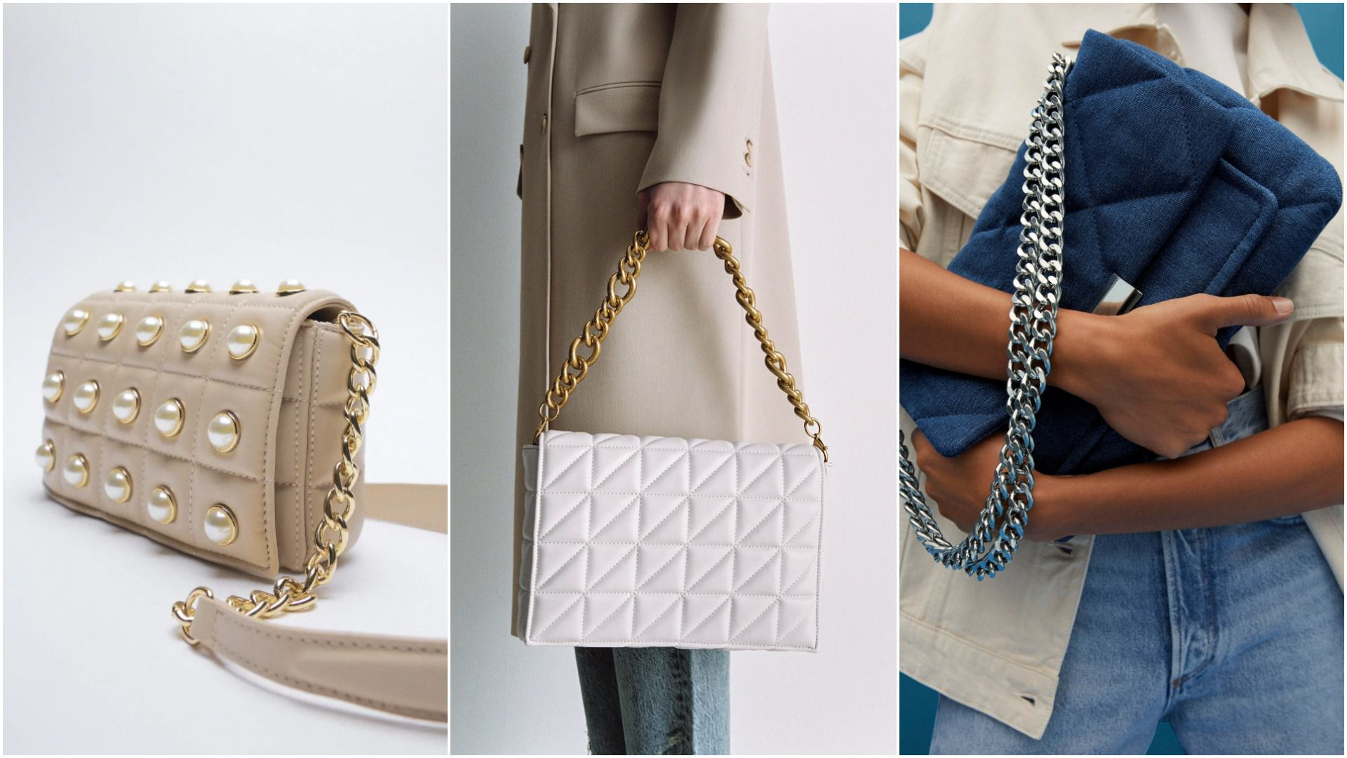 Prošivene torbe i dalje su jako trendi: Pronađite model za sebe, neki su i na sniženju