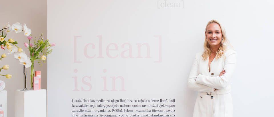 Predivna Donna Vekić zaštitno je lice nove kozmetike za njegu lica Rosal [clean]