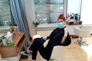 Judita Franković jedna je od prvih klijentica u popularnom zagrebačkom salonu; pogledajte kako je izgledao tretman