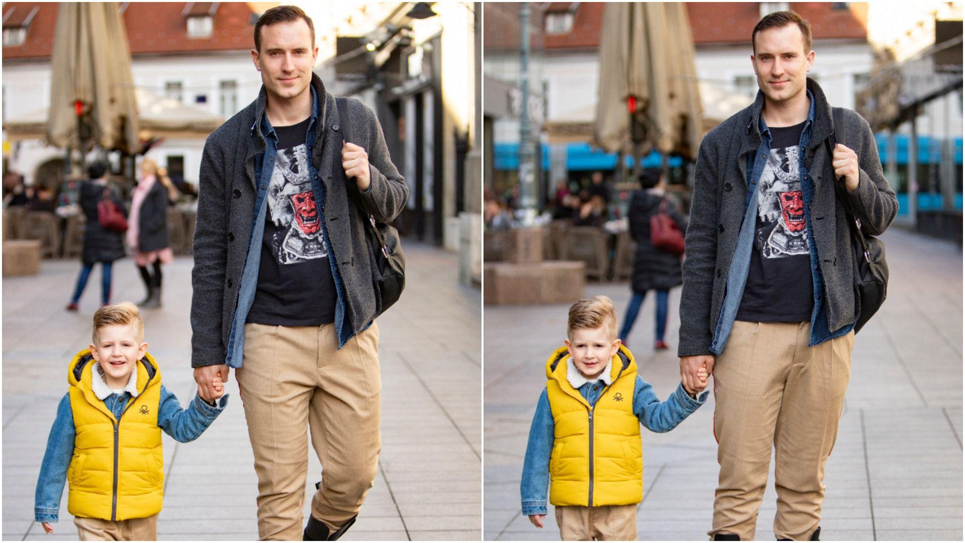 Stylish tata i njegov sinčić bili su glavne zvijezde špice u matchy-matchy odjevnim kombinacijama