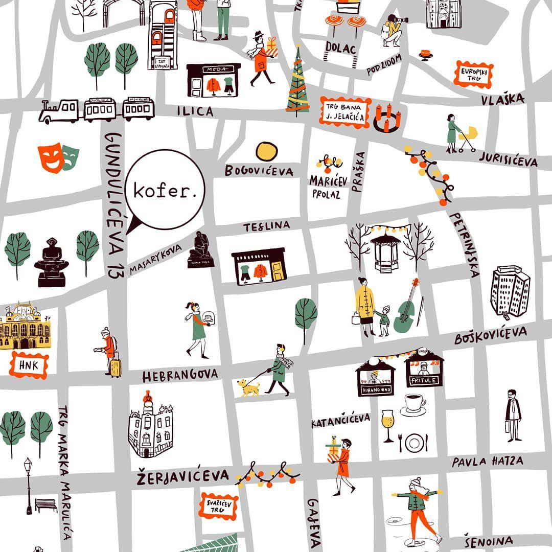 Sva adventska odredišta na jednom mjestu! Ova ilustrativna mapa zagrebačkog Adventa osvaja na prvu