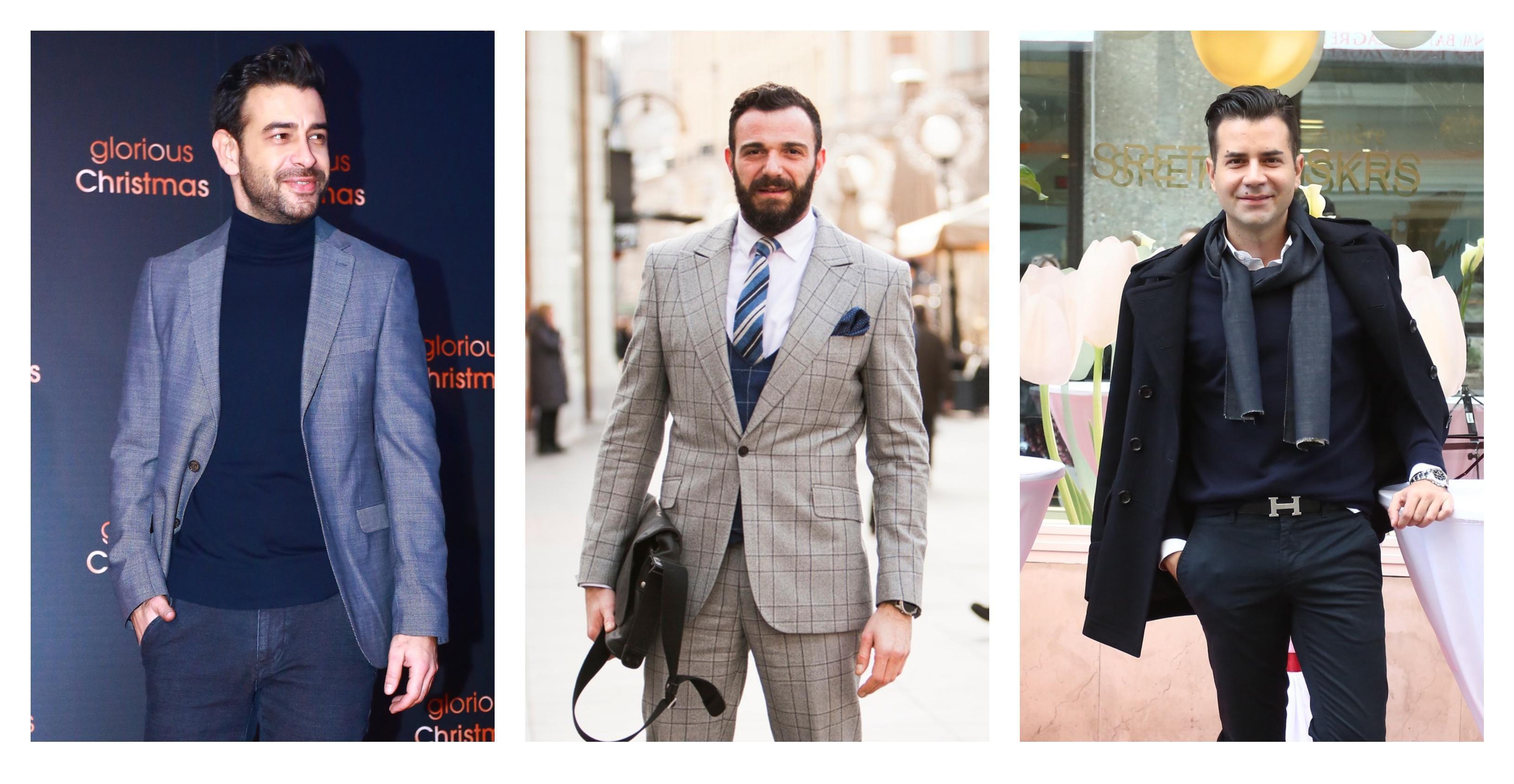 Frajeri, učite od njih: Evo tko su najbolje odjeveni Hrvati u protekloj godini!