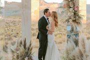 Bajkovito vjenčanje u pustinji: DJ Tiesto i manekenka Annika izgledali su fantastično