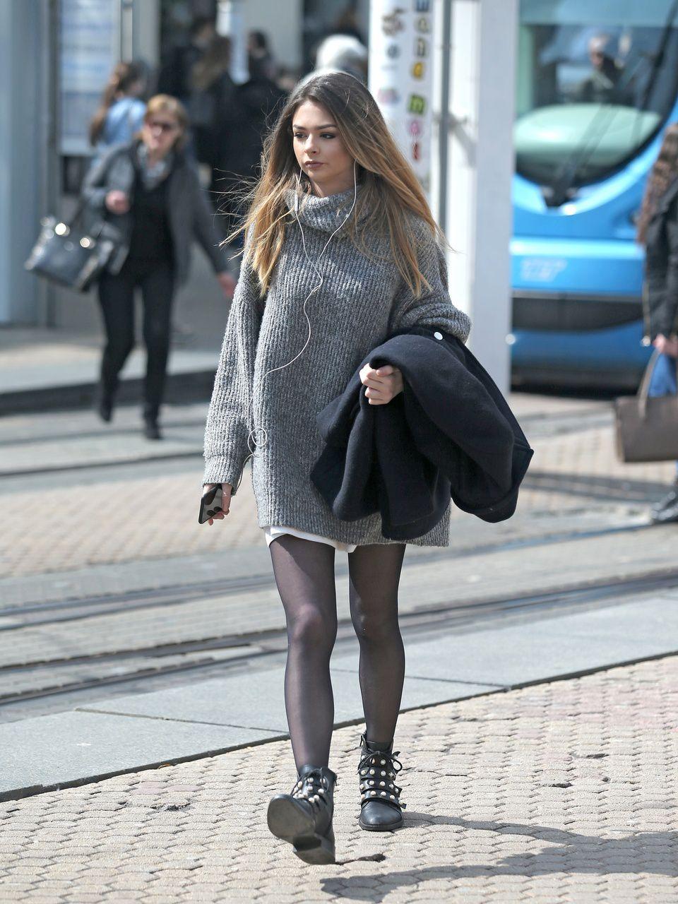 Djevojka iz centra Zagreba isfurala samo džemper u kojem izgleda fantastično!