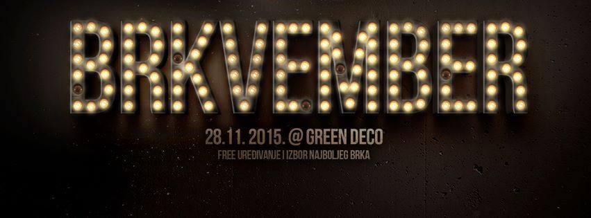 Movember u Green Deco-u
