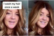 TikTokerica otkrila koristan trik s kojim kosu pere jednom tjedno jer joj se manje masti