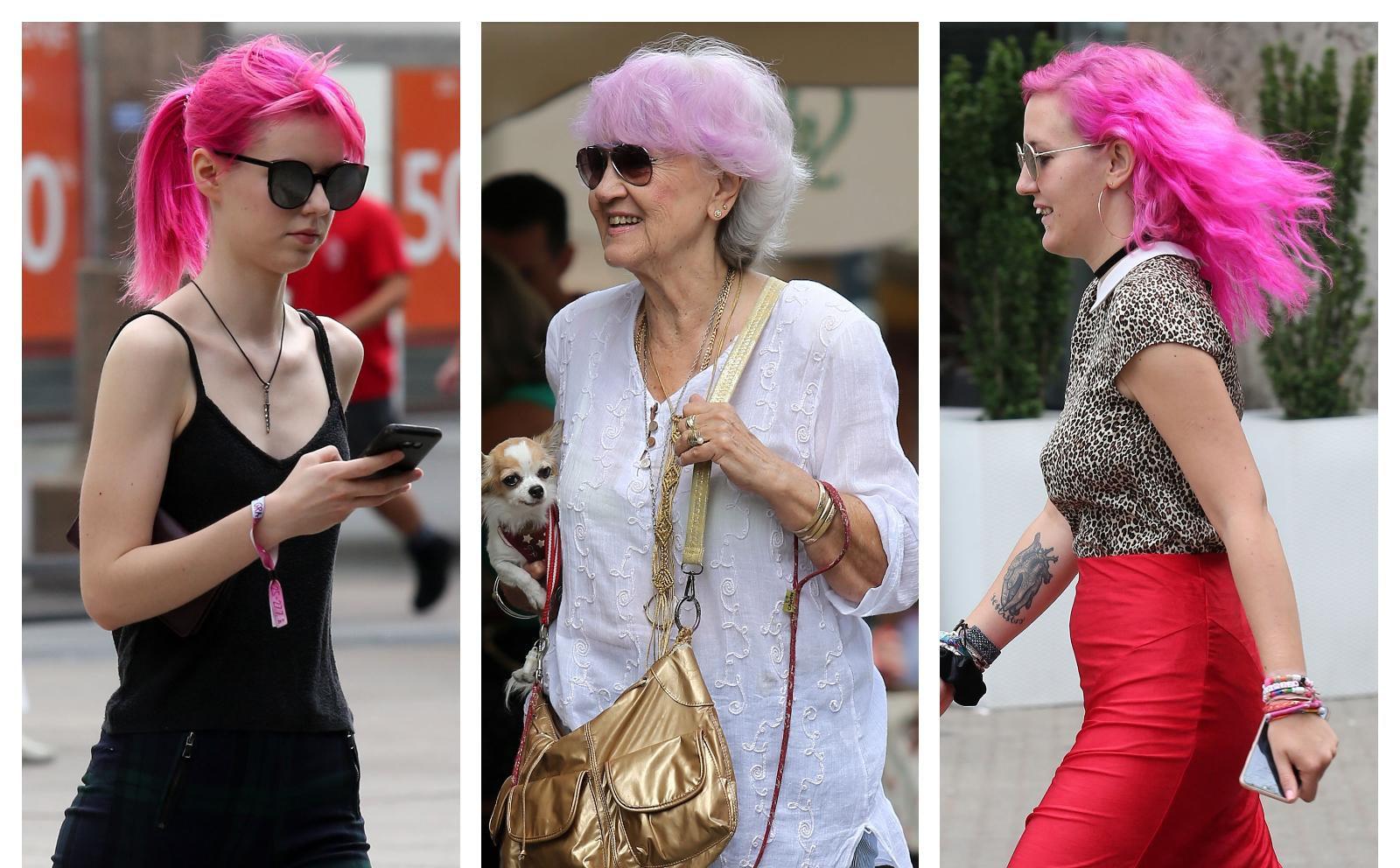 One imaju ružičastu boju kose, a evo kako su je iskombinirale s odjećom