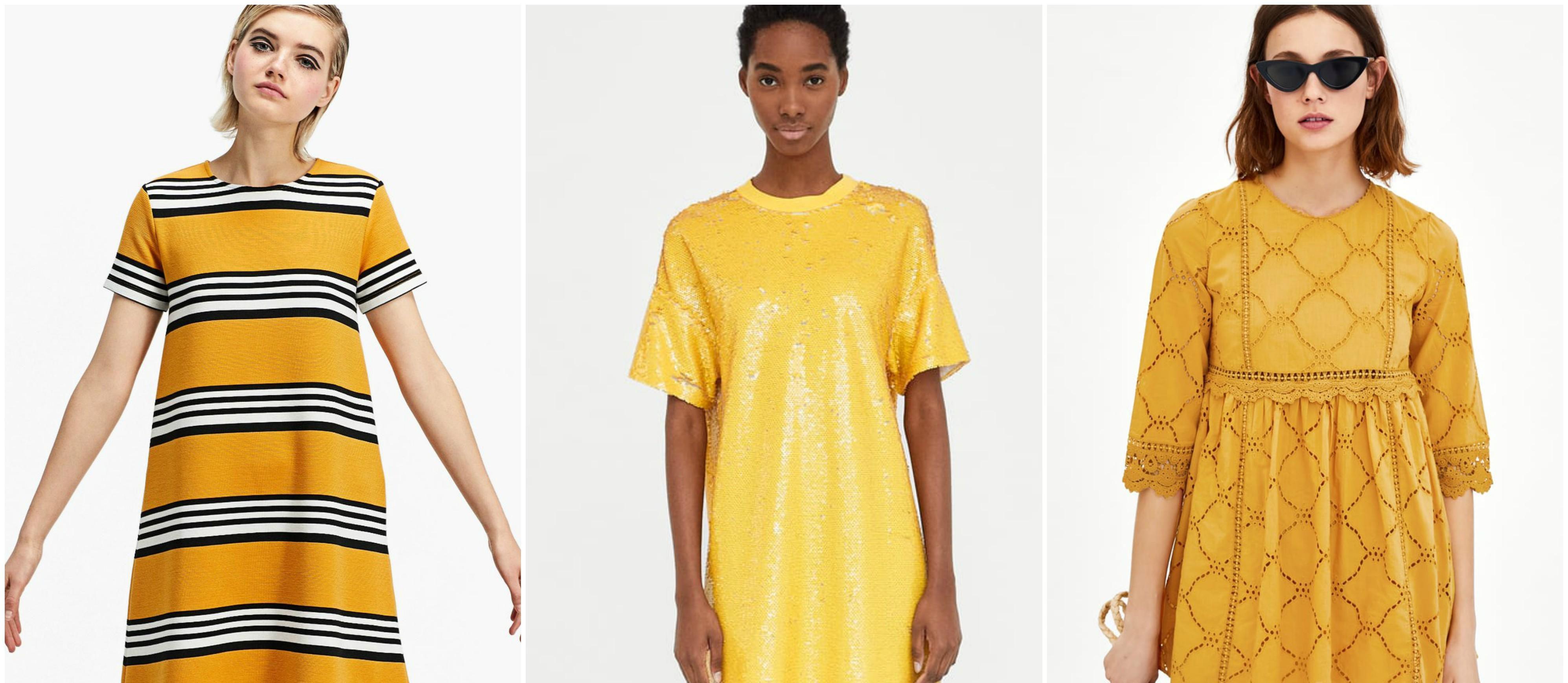 Žuta, žuta i još malo - žute! Pronašli smo najljepše haljine od 119 kuna!
