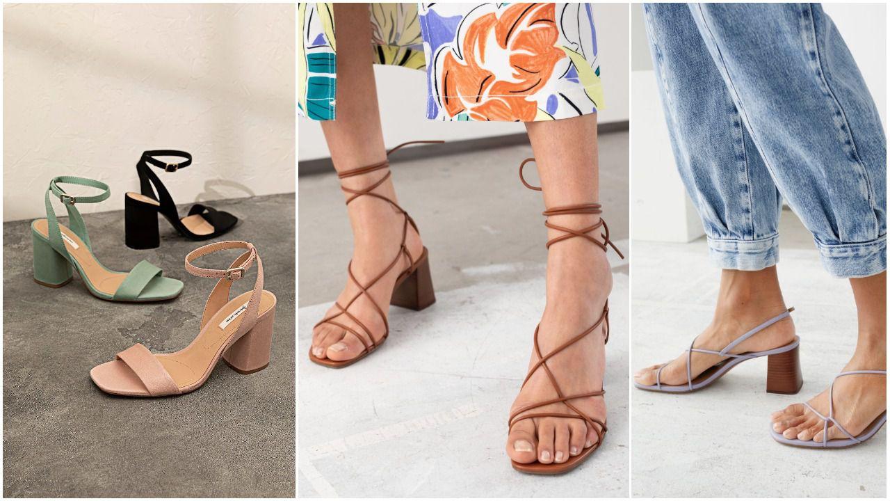 Sandale s blok-potpeticom i ovog su nam ljeta prvi izbor, a u high street dućanima ima stvarno divnih modela