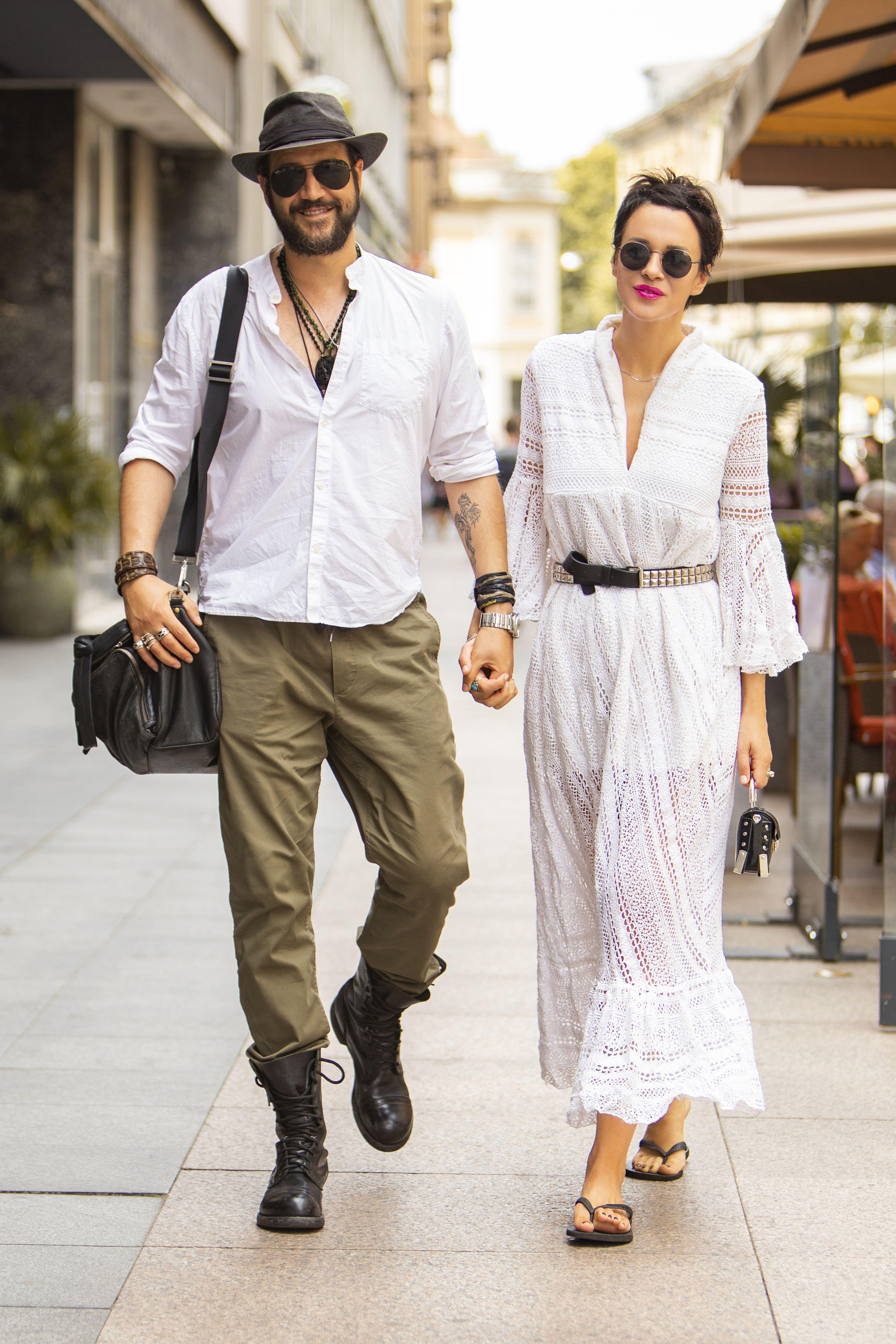 Odlični! Glumački par Ivana Horvat i Stefan Kapičić pravi su stilski #couplegoals