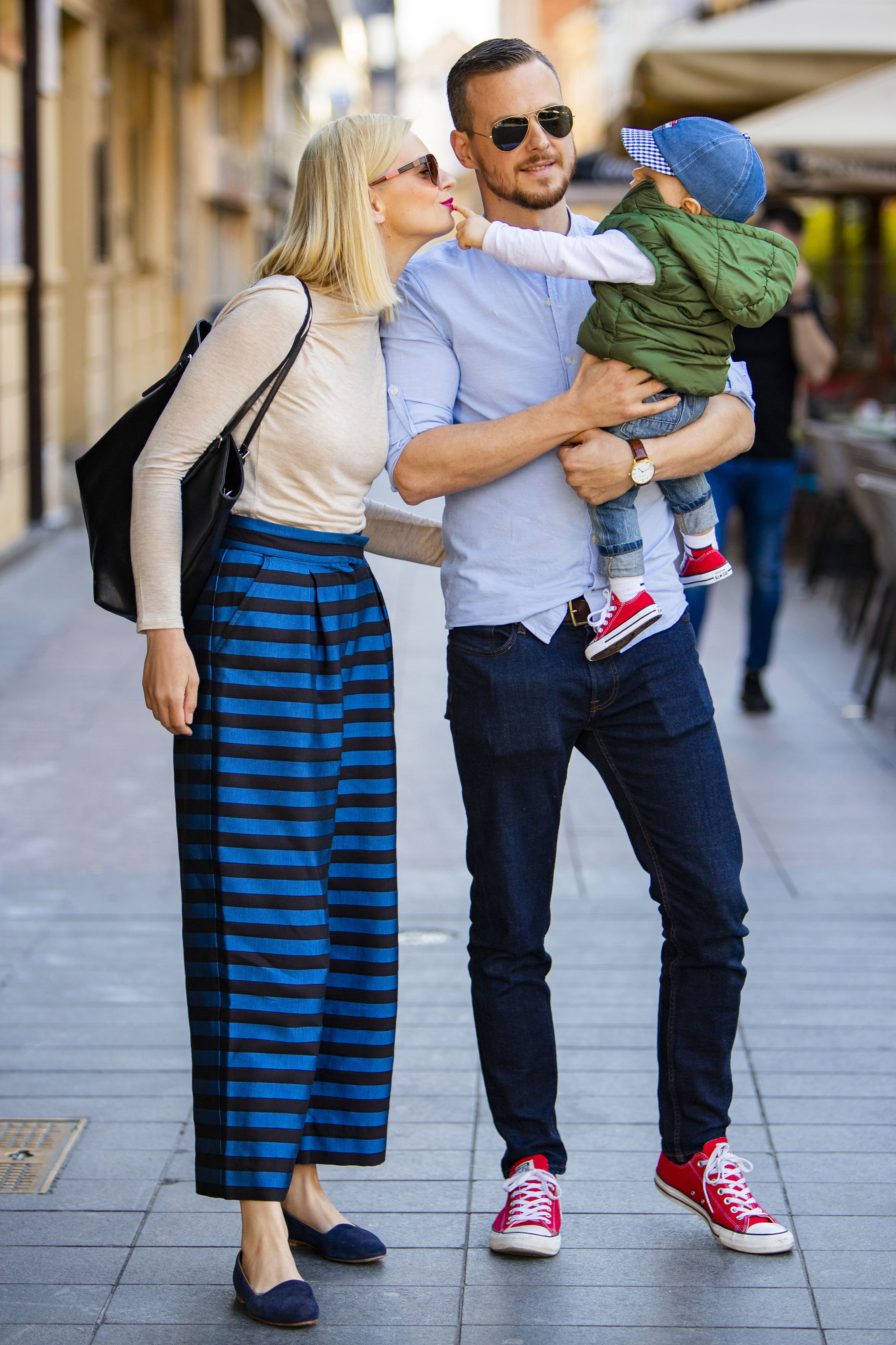 Stylish voditeljica Edita Misirić Vrkljan i njena obitelj - najslađi su prizor!