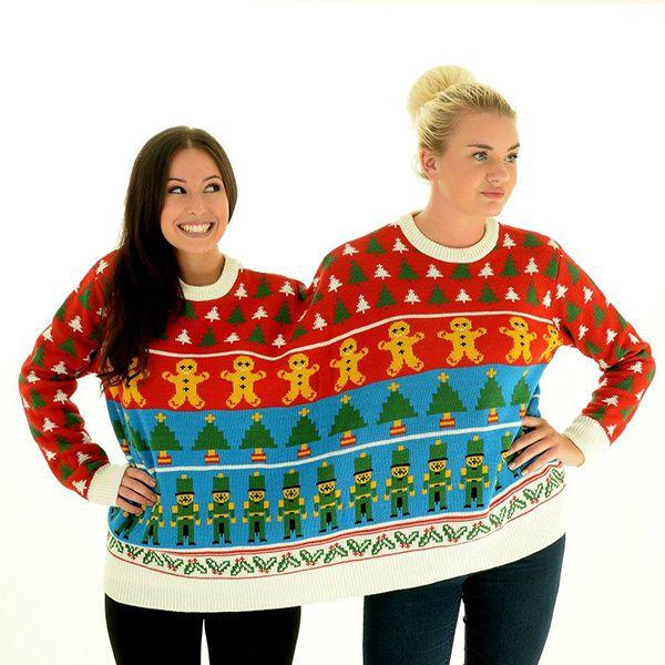 """Novi level """"ugly christmas sweater"""": Uz ove džempere nema šanse da budete usamljeni!"""