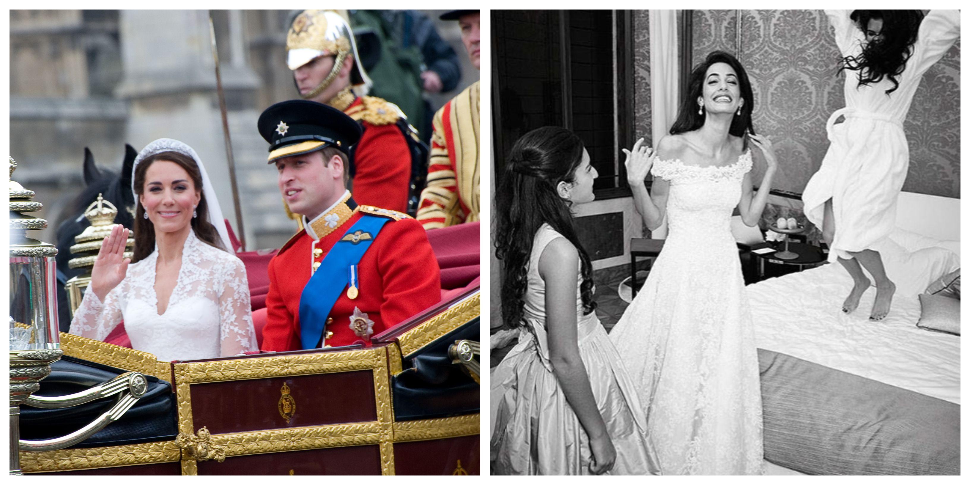 Kim Kardashian, Amal Clooney, Kate Middleton... Ovo je pet najskupljih vjenčanica svih vremena!