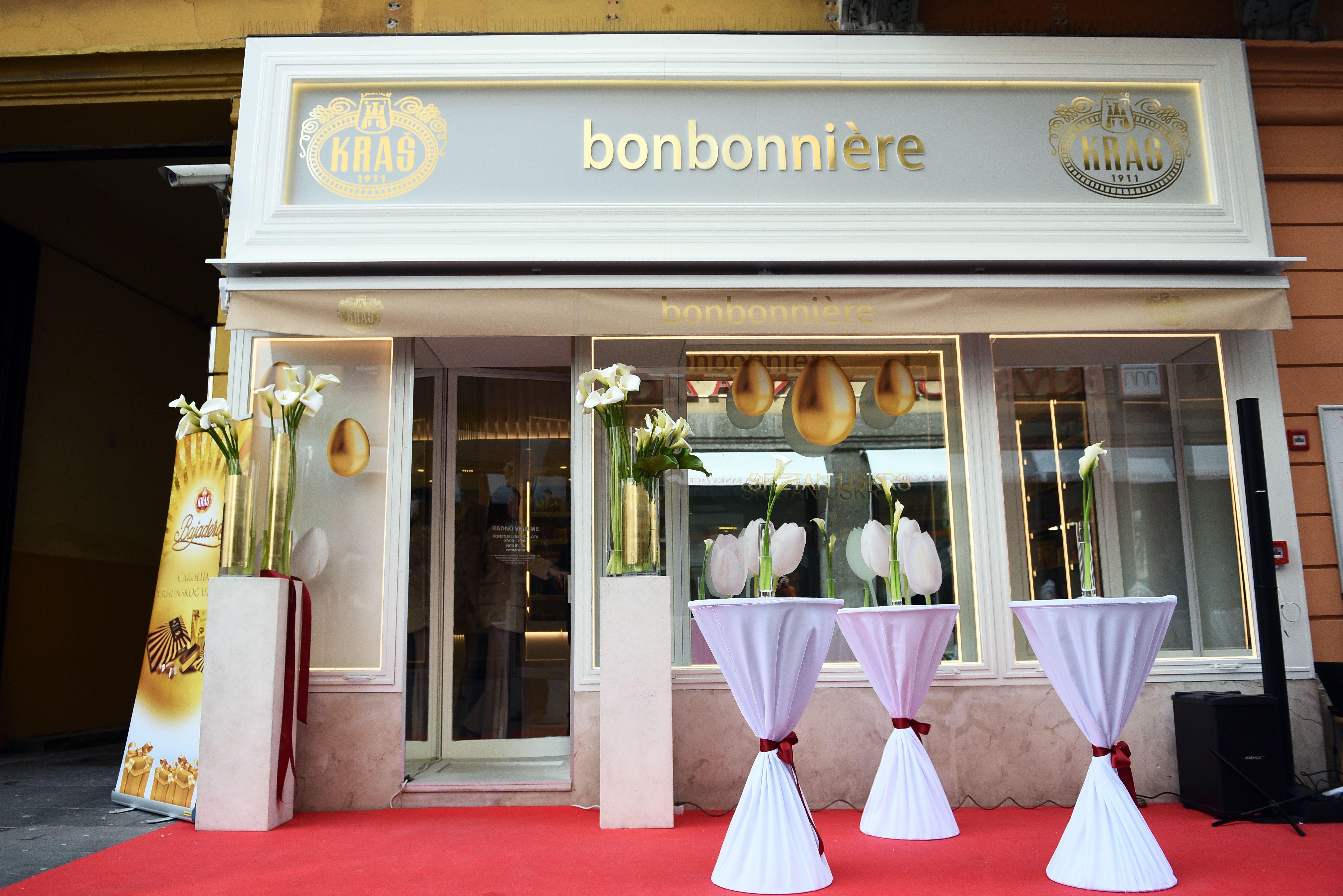 Novo profinjeno i elegantno lice Kraš Bonbonnière na Cvjetnom trgu u Zagrebu