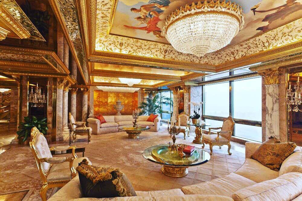 Zavirite u dom multimilijardera Trumpa