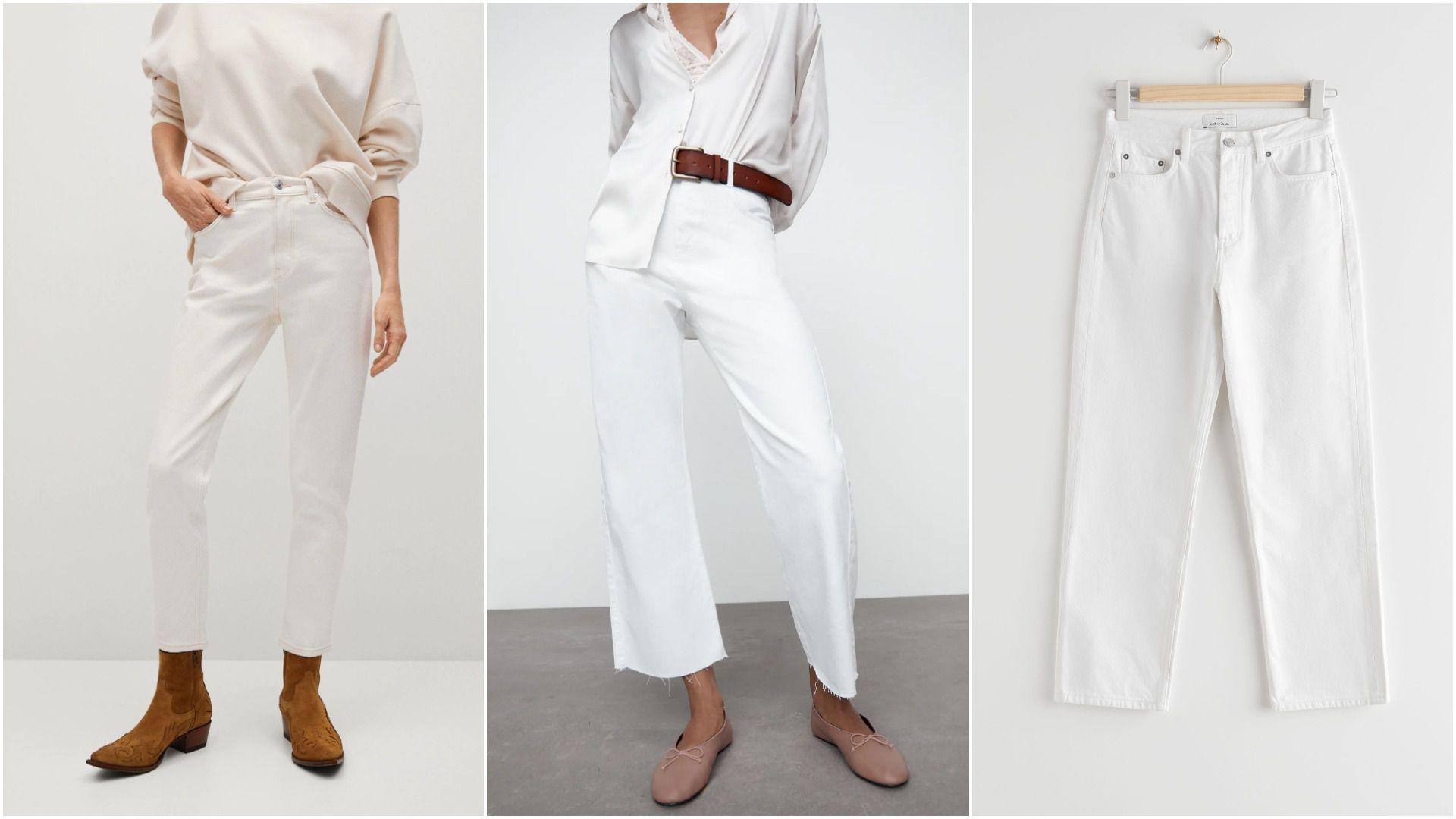 Bijeli jeans nosimo i ovog proljeća: U ponudi omiljenih dućana nikad nije bilo ovoliko super modela