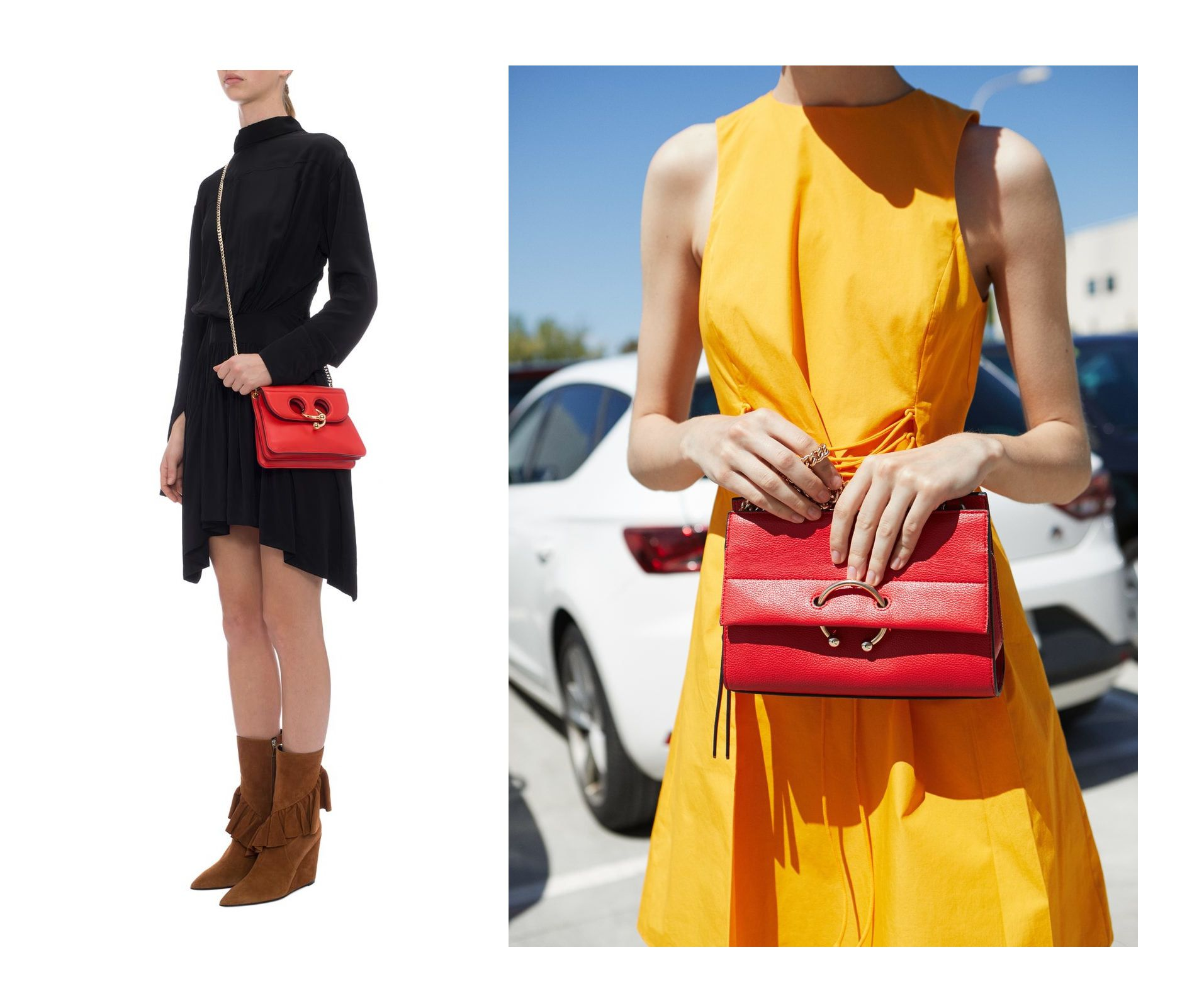 Koja je dizajnerska, a koja je kopija? Pronašli smo torbicu koja neodoljivo sliči na popularan model!