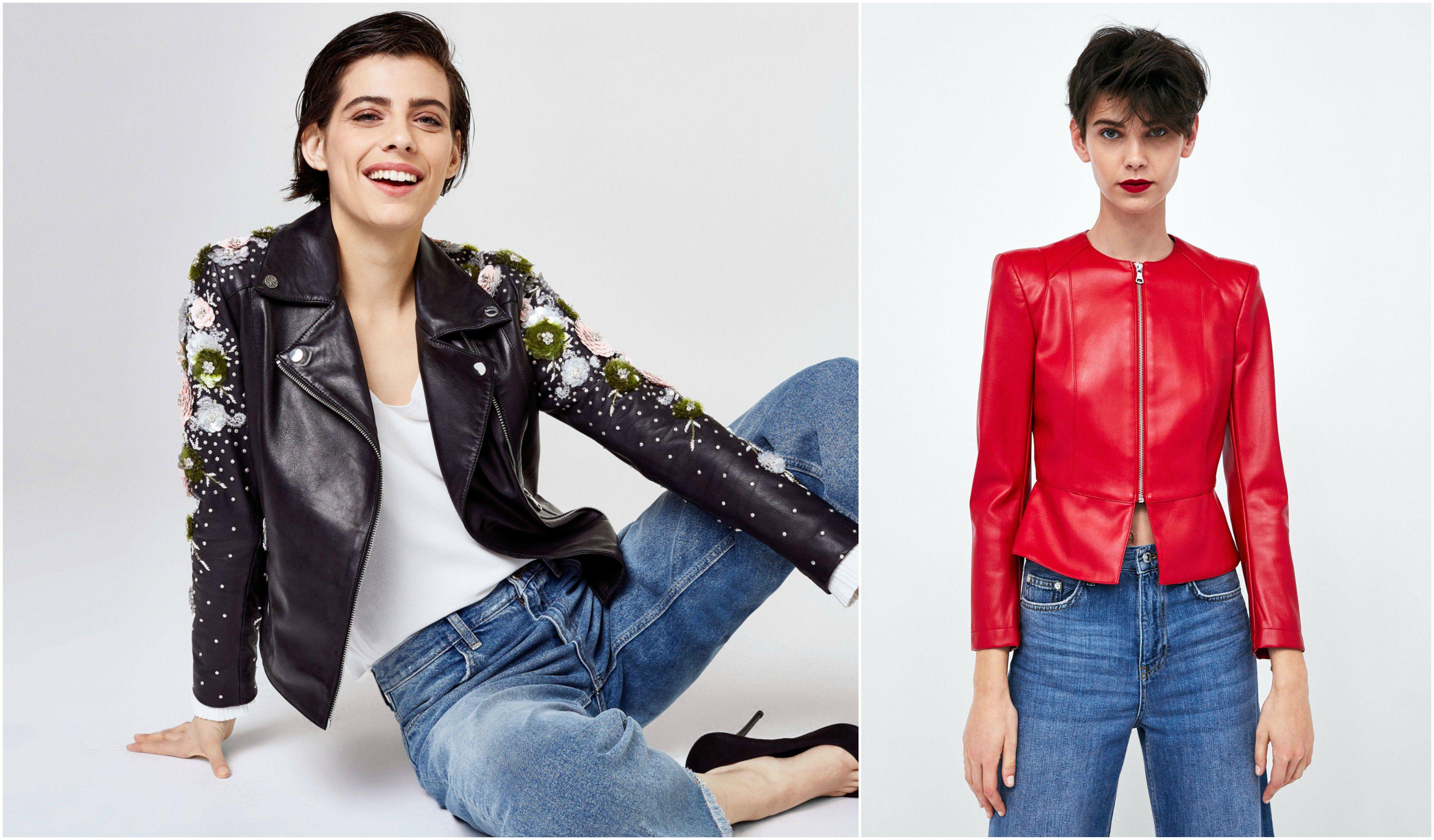Novo lice kožnate jakne: Najljepši modeli za proljeće