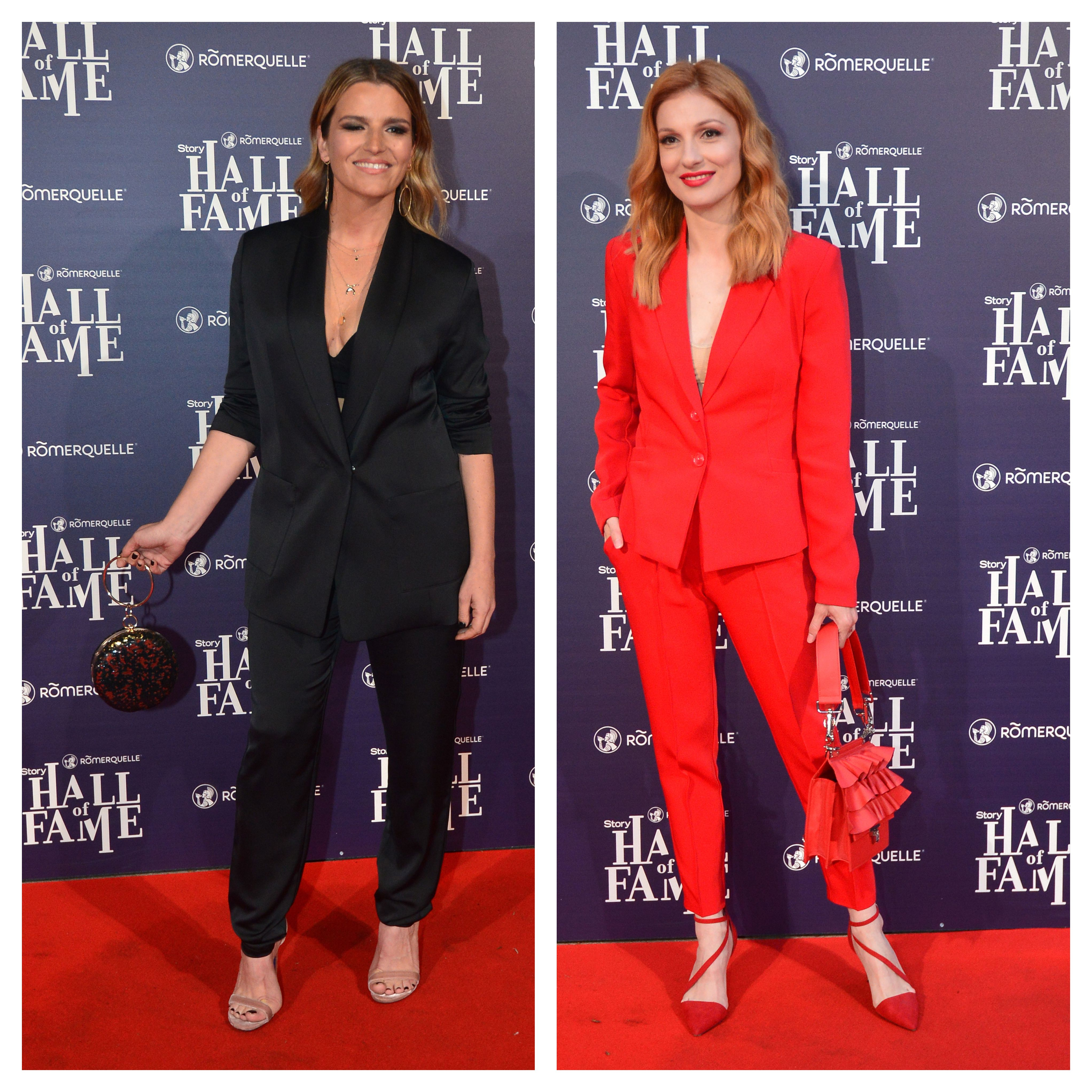 Crno ili crveno odijelo? Antonija Blaće i Vanda Winter ovaj must have komad nose fantastično
